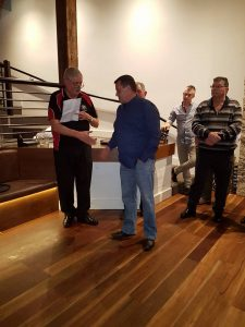 Saints President Scott Eade Newest NRFC Life Member