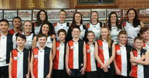 Senior Women's Mum Saints & Their Junior Kids, What A Great Club To Be Part Of