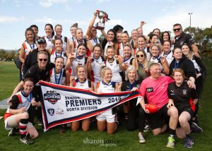 Lady Saints Premiers In First Year