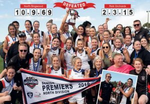 Senior Women's Coach - Position available for 2020