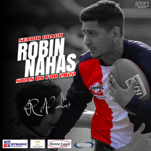 Robbie signs on for Season 2022
